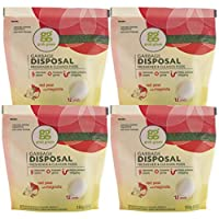 Red Pear with Magnolia , 12 Pods, 5.9 Ounce (Pack of 4) : Grab Green Natural Garbage Disposal Cleaner and Freshener, Red Pear with Magnolia, 12 Pods (Pack of 4)