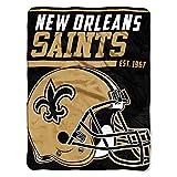 Northwest Mikro-Raschel-Überwurf, NFL, New York Giants, 40-Yard-Sprint, Herren, NFL05903, Altgold, 46-inches by 60-inches