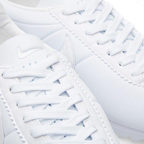Nike Classic Cortez Shark Low Sp, Chaussures de Running Entrainement Homme, Blanc, 40 EU Blanc / noir (blanc / blanc - noir)