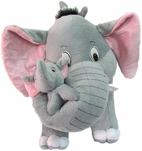 AVS Stuffed Spongy Hugable Cute Elephant Cuddles Soft Toy For Kids Birthday / Return Gifts Girls Lovable Special Gift High Quality