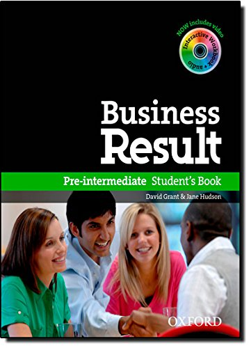 Business result. Pre-intermediate. Student's book. Per le Scuole superiori. Con DVD-ROM. Con espansione online