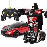 #10: Super Deformation Hurtling Ares Transformer Car with Gesture Sensor (Bugatti red)