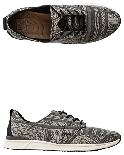 Reef Rover Low Prints, Baskets Basses Femme Multicolore - Varios colores (Black Batik)