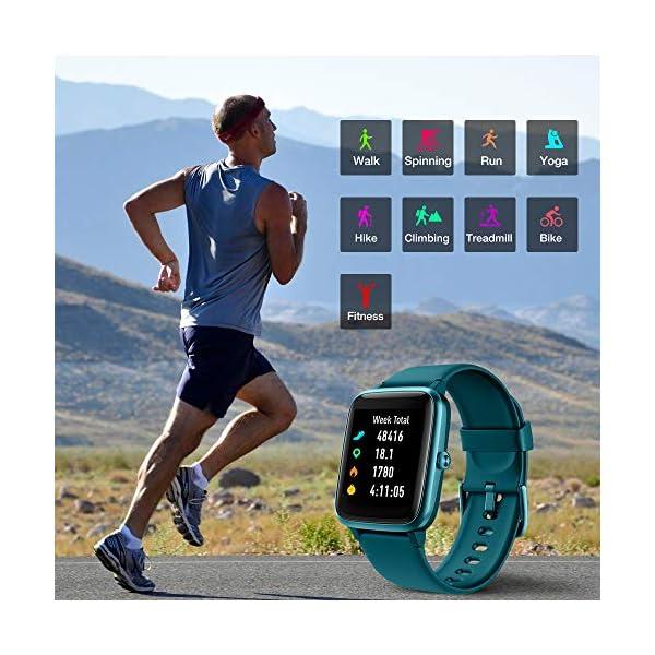 UMIDIGI Reloj Inteligente con Oxímetro (SpO2) Smartwatch con Monitoreo de Frecuencia Cardíaca para Hombre Reloj… 4
