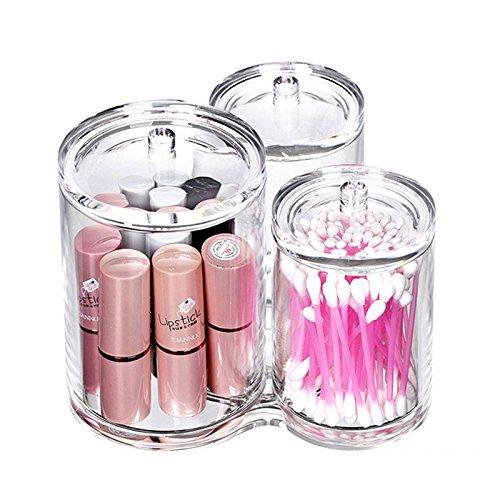 TOOGOO HOT acrylique Cosmetique porte-pinceau Eyeliner sourcils cosmetiques collection boite de rangement de bijoux boite de rouge a levres maquillage