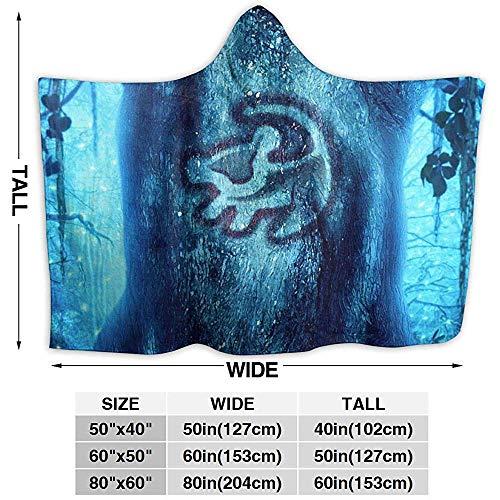 Nat Abra Lion King Blanket Hoodie Decke Soft Cloak Schal Wrap Für Erwachsene Kinder