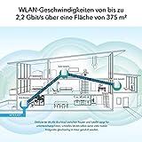 Netgear Orbi RBK23-100PES AC2200 Mesh Wlan/Mesh Router (Triband System mit Router und Satellit bis zu 375 m², Alexa kompatibel, ersetzt Powerline und Repeater) - 4