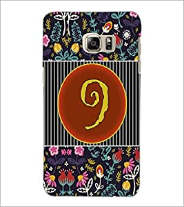 PrintDhaba Numerology Number 9 D-3096 Back Case Cover for SAMSUNG GALAXY NOTE 5 (Multi-Coloured)