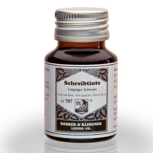 rohrer-klingner-dal-1892-flacone-inchiostro-nero-di-lipsia-50ml