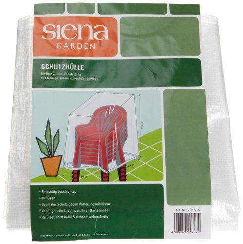 Sienagard4 703915 Housse Transparente pour Fauteuil Tissu/Polyester/Transparent
