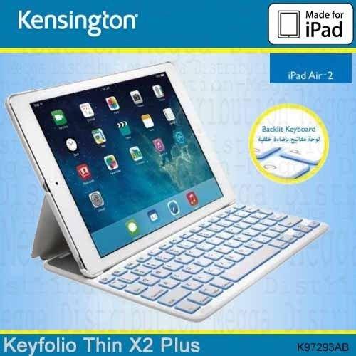 Kensington K97293AB KeyFolio Thin X2 Plus - Teclado