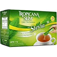 Tropicana Slim Sweetener Stevia Diet Sticks - 75 gm