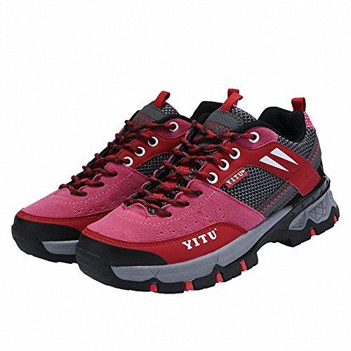 Ben Sports Chaussures de Randonnée Trail Running Sports Homme Femme,36-45 Rose