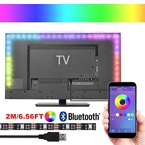 Led TV Hintergrundbeleuchtung,Makion 1M USB Led Beleuchtung Hintergrundbeleuchtung Fernseher USB für 40 bis 60 Zoll HDTV,TV-Bildschirm und PC-Monitor,Led Strip. [Energieklasse A++]