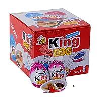 Surprise King Egg Cheap Price King Joy Chocolate Surprise Egg Toys - Shipping Free (24 Pcs. (288 gm))