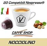 Capsule Compatibili Nespresso, Capsule Miscela 'Nocciola' Linea Espresso (Kit Assaggio 20 Capsule)