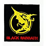 BLACK SABBATH Music Songs Heavy Metal Punk Rock & Roll Band Logo T-Shirts iron on Patches by Music Patch