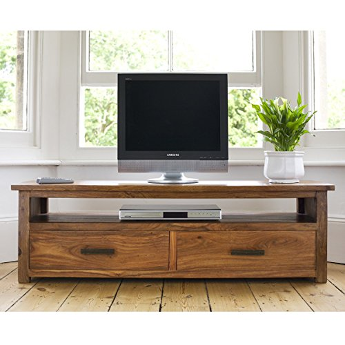 Sheesham wood Plasma Tv Stand with 2 doors