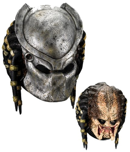 (Morris Costumes Predator Mask Deluxe Top Grade Components Available Popular by MCS)