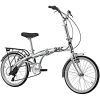 Bicicleta plegable para bicicleta plegable Hi-Tension 6 Velocidad de cambio aluminio