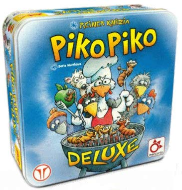 Mercurio Piko Piko El Gusanito Deluxe - Juego de Mesa en Castellano