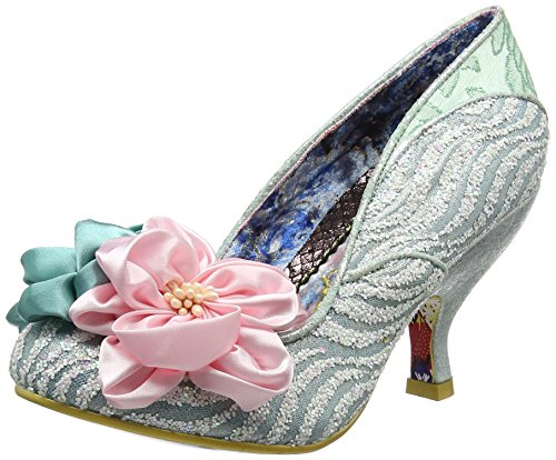 Irregular Choice Damen Little Peaches Pumps, Grün (Mintgrün), 41 EU