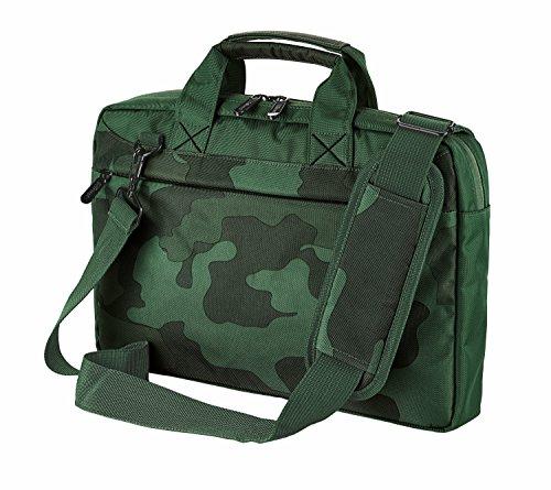 Trust Bari schlanke 13,3 Zoll Laptoptasche (für Notebooks mit Bildschirmdiagonale bis 33,8 cm (13,3 Zoll)) camouflage