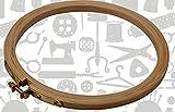 #9: Wooden Hoop - Round - 10