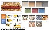 Genius 4D - Biancaluna - Coppia Cuscini Singoli Maxi per Cuscini da 70 a 95cm - Colori Fantasia Vision da comunicare