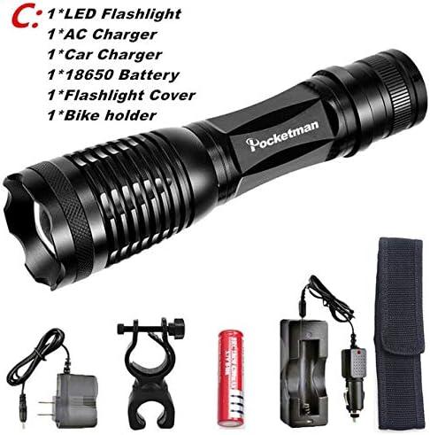 C, L2 L2 L2  potente torcia LED CREE XML-T6 L2, impermeabile, 5 modalità di illuminazione, 5000 lumen, zk50 B07KP92NNW Parent   elegante    Benvenuto    The King Of Quantità  47fccc