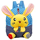 Kinderrucksack Kindergartentasche Kindergartenrucksack Rucksack Kinder - Tiere (Hase-Gelb)