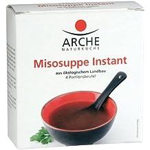 Arche sopa instantánea Miso, 4x bolsas de 10 g, 2x paquetes