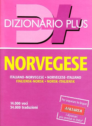 Dizionario norvegese. Italiano-norvegese. Norvegese-italiano