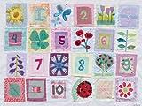 Oopsy Daisy Zählen Blumen von Maria Carluccio Leinwand Wand Art, 24von 18