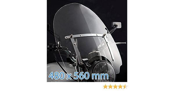 Windschild Motorrad Für Yamaha Xvs650 Classic Dragstar 97 08 Auto