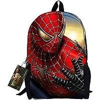 Bebamour New Style Spiderman-Zainetto per la scuola da bambino, motivo: Superman