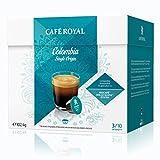 Café Royal So Colombia Café, röst Nescafé Dolce Gusto, Café Capsules Café Compatible, 80Capsules