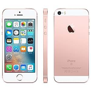 Apple iPhone SE Smartphone débloqué 4G (Ecran : 4 pouces - 128 Go - Nano-SIM - iOS) Rose