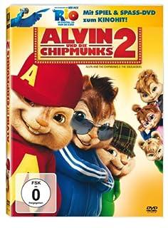 Alvin und die Chipmunks 2 (+ Rio Activity Disc) [2 DVDs]