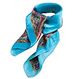 Best Vintage Scarves - Ladies Cruise Silky Shawl Womens Scarf Neck Tie Review