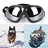 Hanyoug Moda Pet Dog Occhiali UV Occhiali da Sole Protezione degli Occhi Doggie Puppy Occhiale da Sole Regolabile Occhiali Antivento
