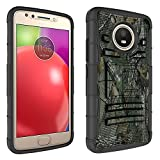Casefirst Cover for Motorola Moto E4 Anti Scratch [Scratch Resistant/Perfect Fit] Motorola Moto E4 Case Cover Protective Skin Shell Holster (Forest)