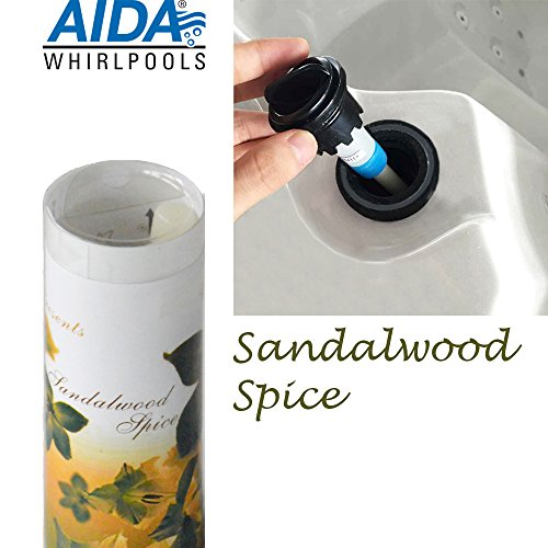 """""""Sandalwood Spice"""" Sandelholz Aroma, Duft, Dufteinsatz Stick für Aromatherapie, für Outdoor Whirlpool, Jacuzzi, Spa"""
