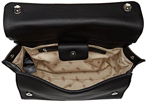 Guess Damen Bags Hobo Shopper, 16x28x45 centimeters Schwarz (Nero)