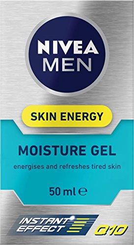 Nivea For Men 88882 Active Energy Gesichtspflege Gel, Vitamin + Komplex, 50 ml