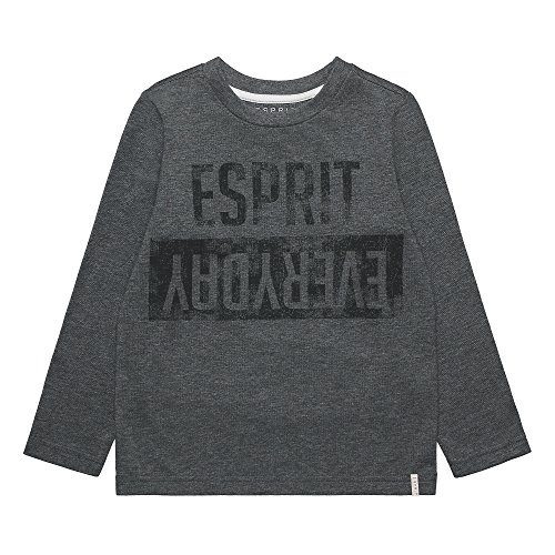ESPRIT Jungen Langarmshirt RK10164, Grau (Heather Grey 203), 128