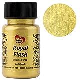 """Colore Acrilico Metallizzato """"Royal Flash"""", 50 ml (oro giallo)"""