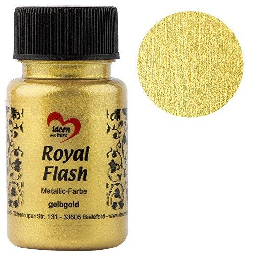 Colore Acrilico Metallizzato 'Royal Flash', 50 ml (oro giallo)