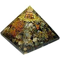 Labradorit Orgonite Pyramide/Reiki Heilung Crytsal Pyramiden- und Chakra-Dekoration 65mm mit Tasche preisvergleich bei billige-tabletten.eu