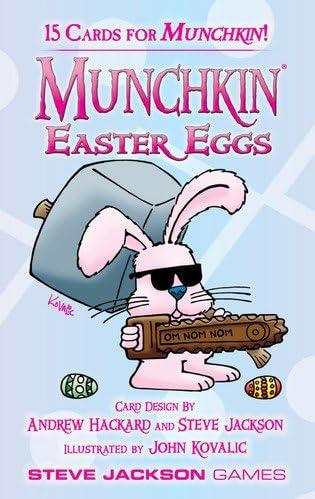 Munchkin - 332214 - Jeu De Cartes Cartes Cartes - Easter Eggs Booster Pack - D10 B00BN70KTU 188afd